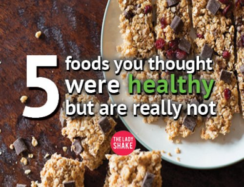 5 Foods you thought were healthy But are NOT!