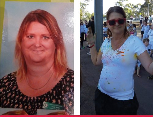 Polly Loses 8.6 Kilos with the Lady Shake!