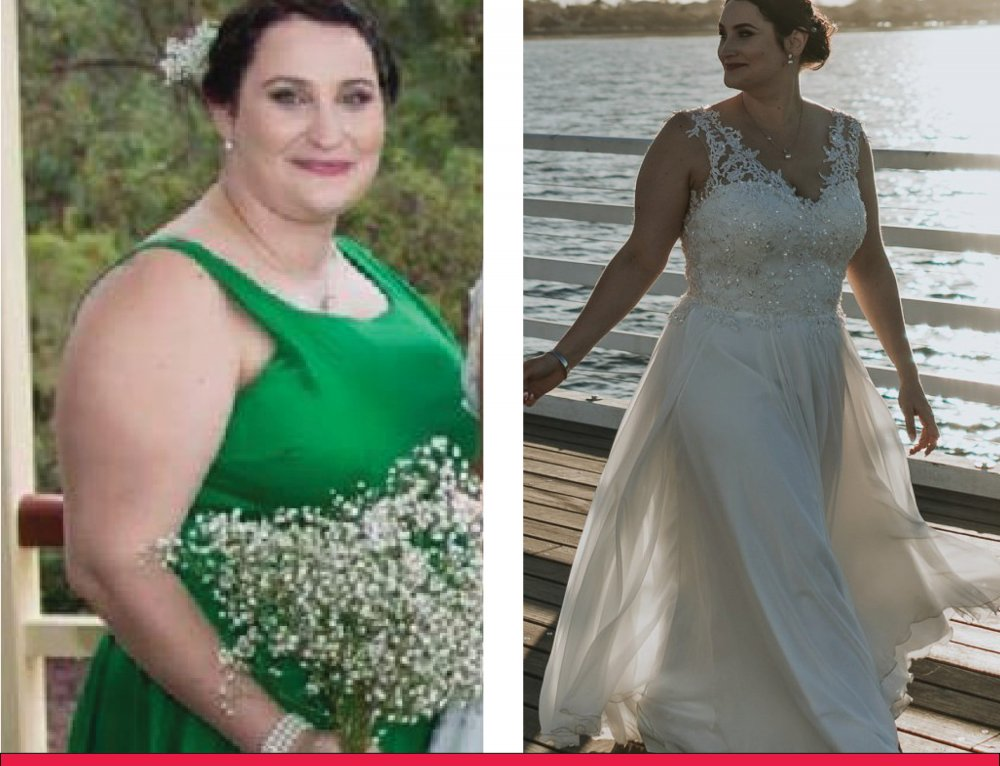 Rachel loses 20KG in time for her wedding day!
