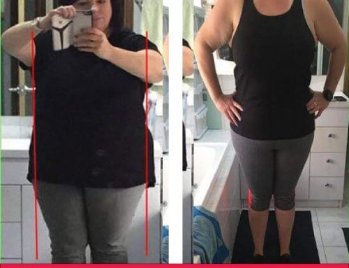 Angela lost 10kg with The Lady Shake