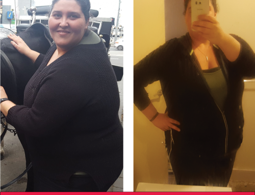Leah has lost 30KG so far!