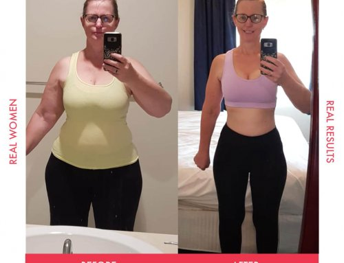 Christine lost 4 dress sizes and never looked back!