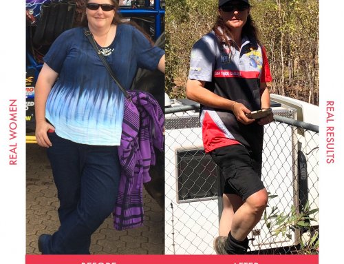 Karen was motivated by her hubby and lost 40kg!