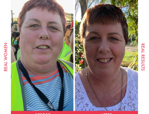 Angie wanted to be around for her 1st grandchild and her sons wedding, so she lost 19.5kgs!