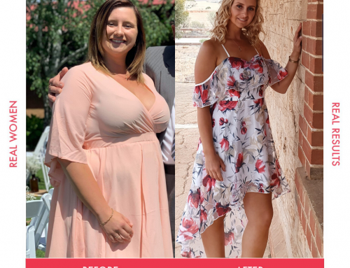 Nicole lost 33kg, reaching her goal weight!