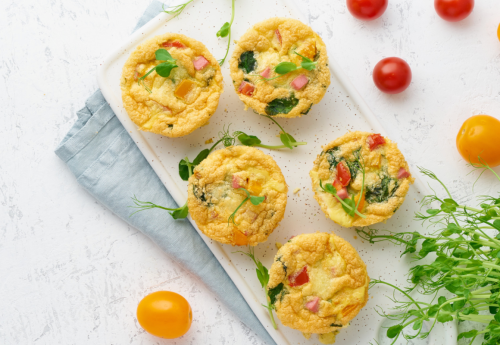 Protein-packed omelette muffins