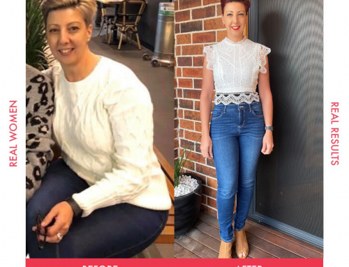 Angela lost 14kgs and got her energy back!