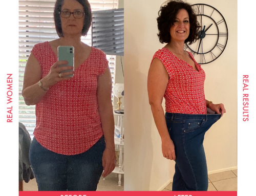 Sharon feels fit and fab after losing 14kgs!