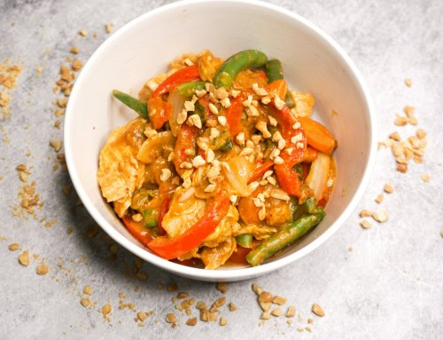 Satay Chicken Stirfry