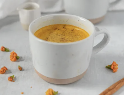 Feel good turmeric latte