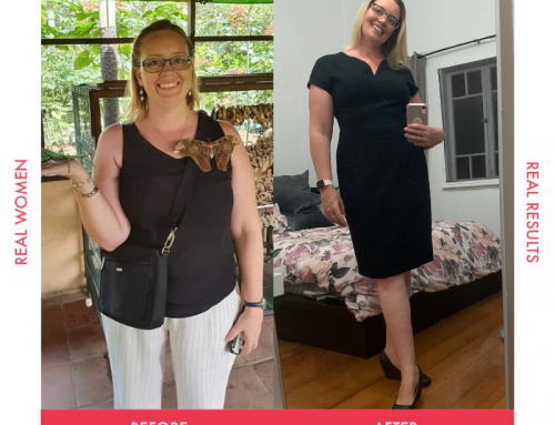 Renee lost over 18kg with The Lady Shake