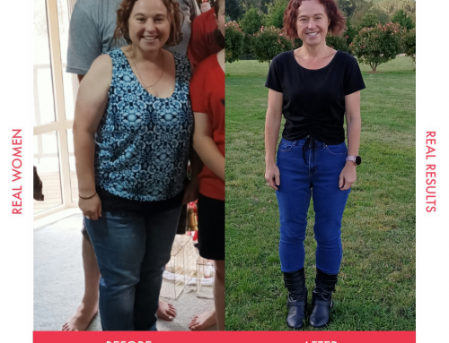 Linda lost 29kg and got her self-confidence back