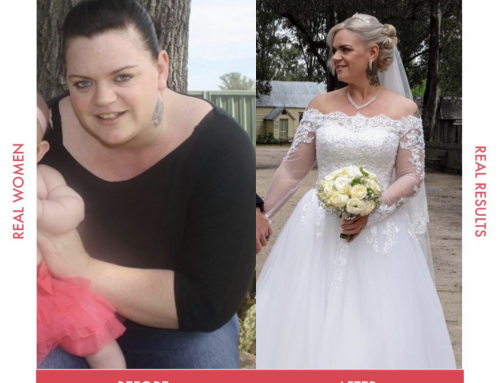 Janet lost 38kg in time for her big day!