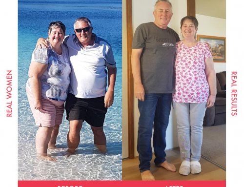 Carol Ann and her hubby have lost a combined total of 54kg!