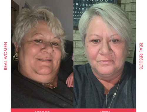 Sue lost 16kg in just 5 weeks