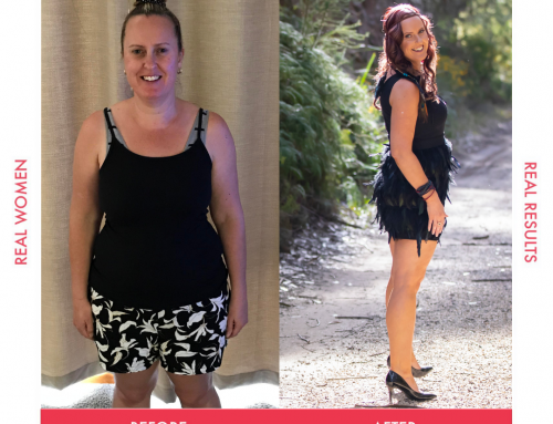 Christina overcame her fatigue and lost 13kg!
