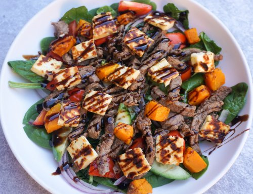 Beef and Haloumi Salad