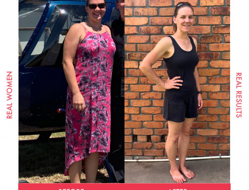 Barb lost over 18kg!