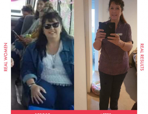 Joan is full of life after losing 21 kg
